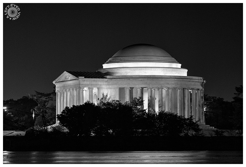 """A Left-Eyed View"", Sabourin, ""Jefferson Memorial"""