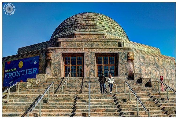 "Adler Planetarium, ""A Left-Eyed View"""