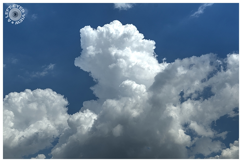 """""""A Left-Eyed View"""", Sabourin, Clouds"""