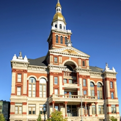 """""""A Left-Eyed View"""", Sabourin, Dubuque Courthouse"""