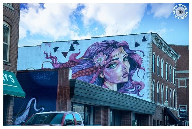 Dubuque Street Art   Wild Rose