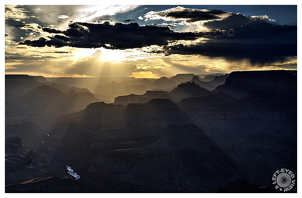 Dusk Settles over the Grand Canyon