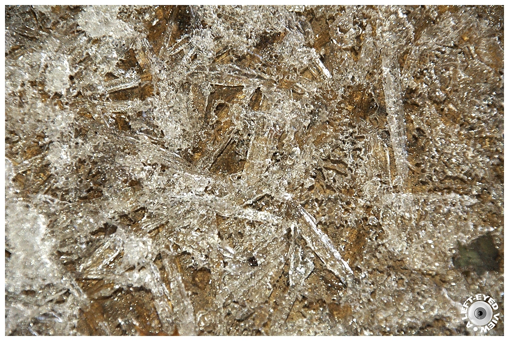 """A Left-Eyed View"", Sabourin, ""Ice Crystals"""