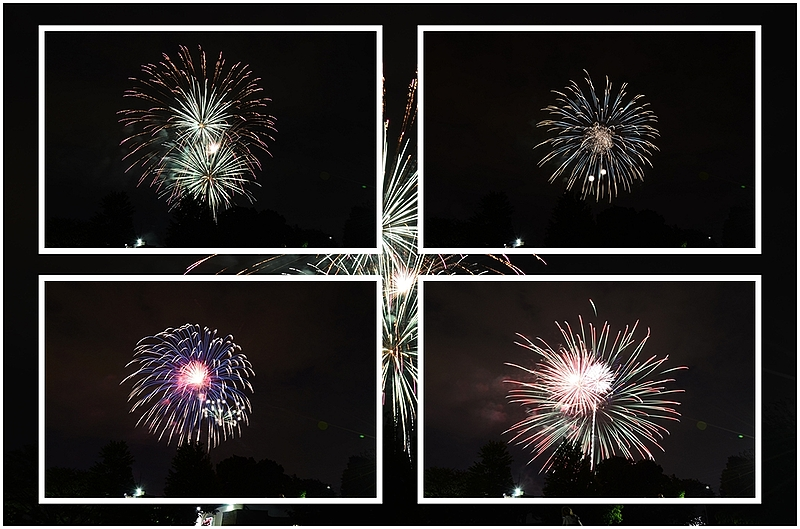 """""""A Left-Eyed View"""", Sabourin, Fireworks"""