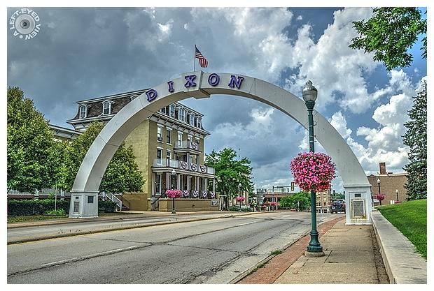 Dixon Veterans Memorial Arch
