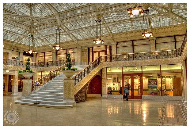The Rookery Building Atrium #2