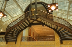 """""""A Left-Eyed View"""", Rookery, Sabourin, Oriel Stair"""