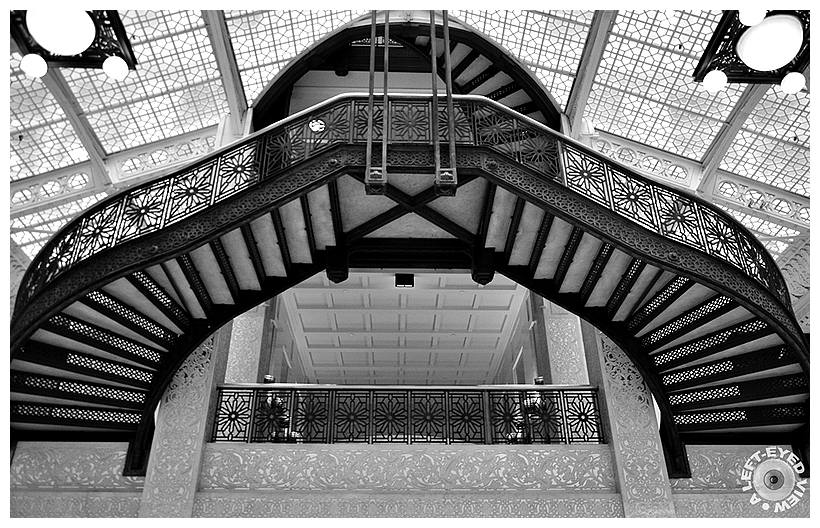 """A Left-Eyed View"", Rookery, Sabourin, Oriel Stair"