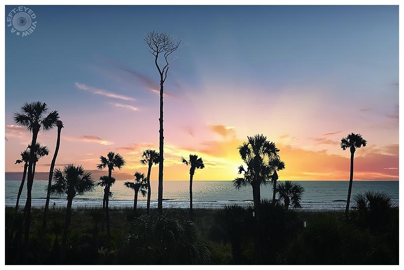 Sunrise at Palmetto Dunes