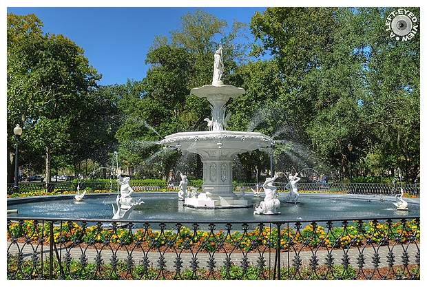Forsyth Park Fountain   The Full Reveal