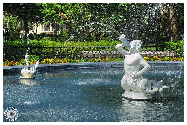 Forsyth Park Fountain Basin