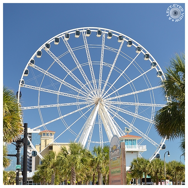 """A Left-Eyed View"", ""Myrtle Beach SkyWheel"""