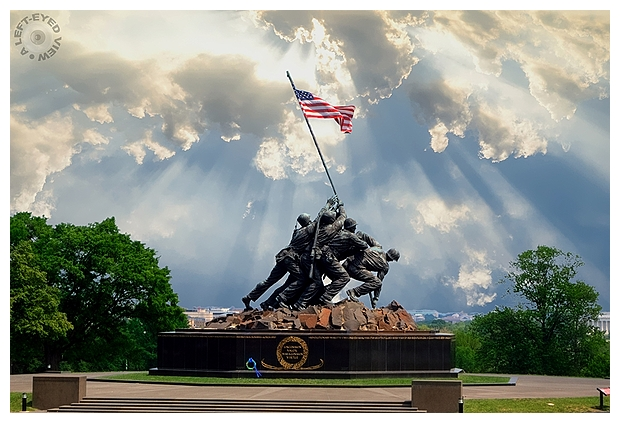 Iwo Jima Memorial for Memorial Day