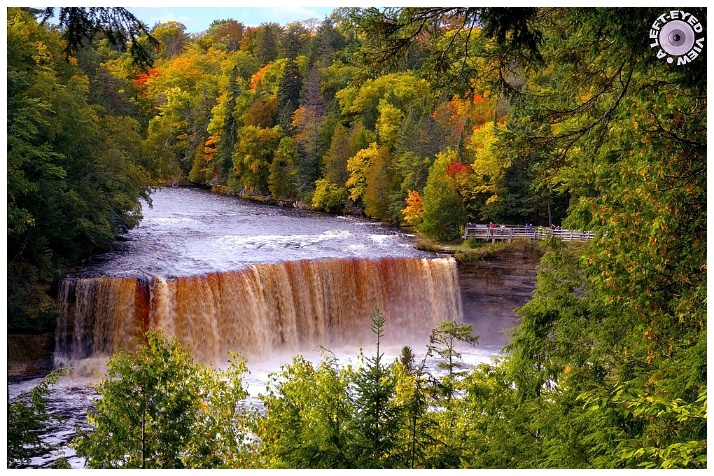 """Tahquamenon Falls"", Sabourin, ""A Left-Eyed View"""
