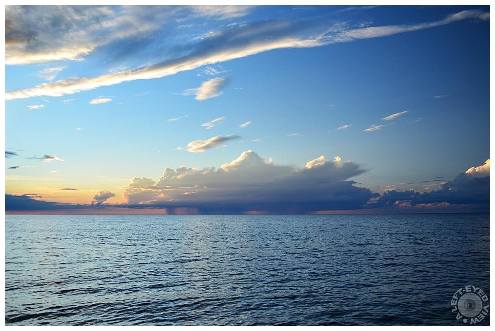 """A Left-Eyed View"", Sabourin, Ellison Bay"