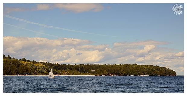 Sailing at Schoolhouse Beach