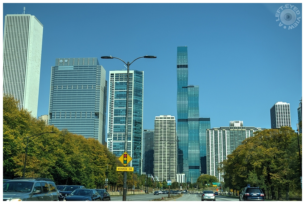 """""""A Left-Eyed View"""", Sabourin, Vista Tower"""