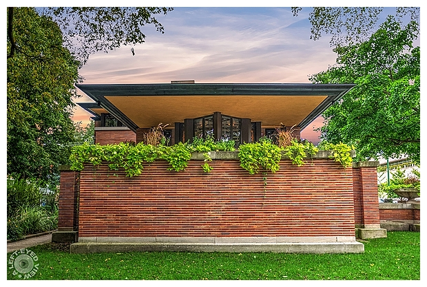 """A Left-Eyed View"", ""Robie House"", Sabourin"