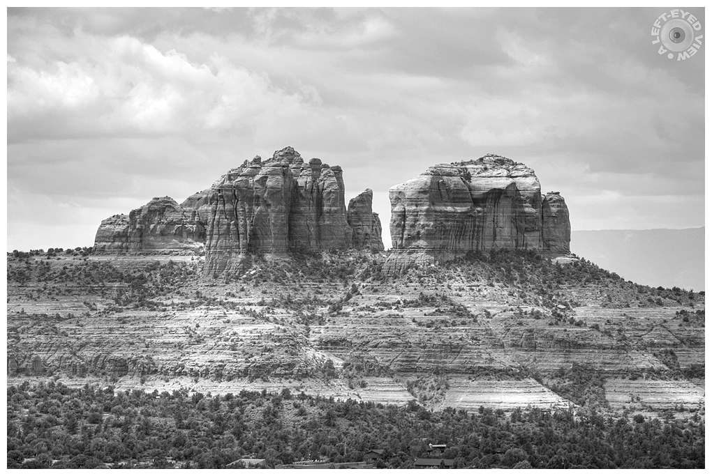 """""""A Left-Eyed View"""", Sabourin, Cathedral Rock"""