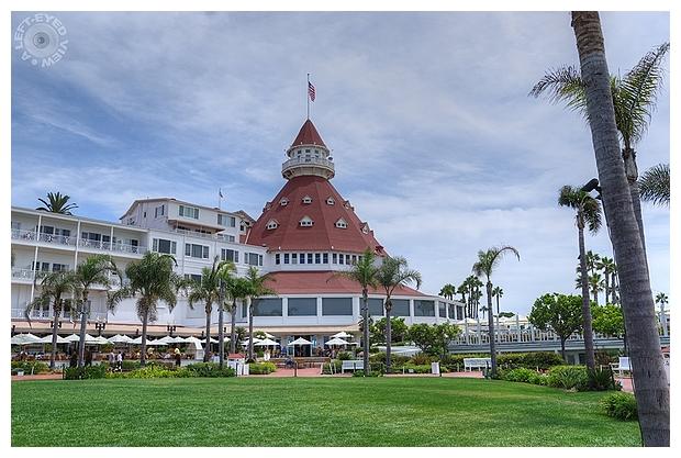 """""""Hotel del Coronado"""", """"A Left-Eyed View"""", Sabourin"""