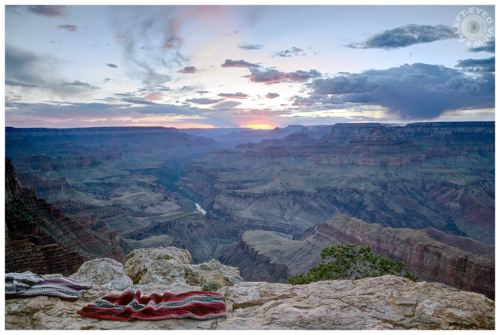 """""""A Left-Eyed View"""", Sabourin, Grand Canyon"""