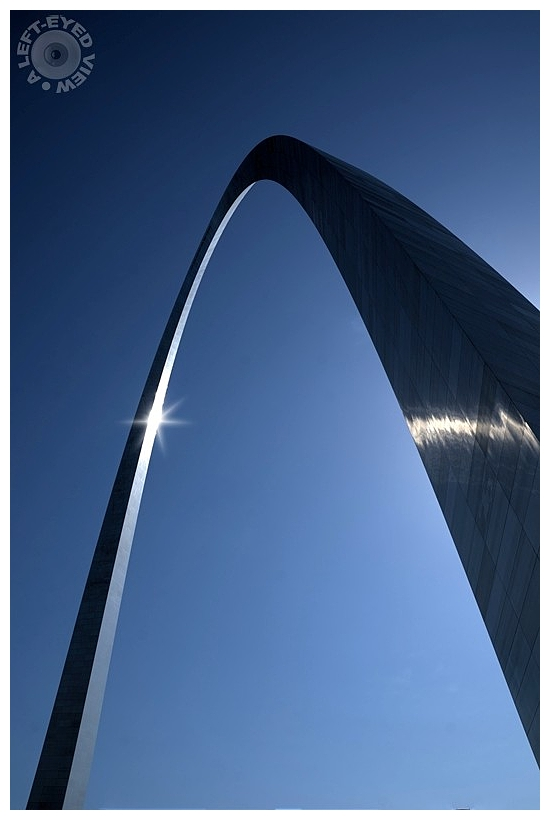 """A Left-Eyed View"", Sabourin, Gateway Arch"