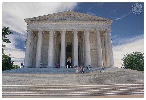 """A Left-Eyed View"", Sabourin, ""Jefferson Memorial"""
