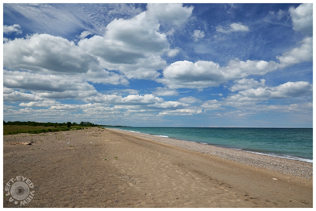 """""""A Left-Eyed View"""", """"Illinois Beach State Park"""""""
