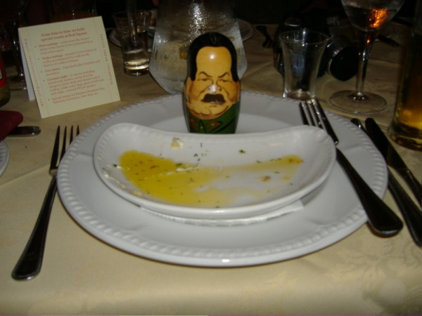 Dinner with Stalin