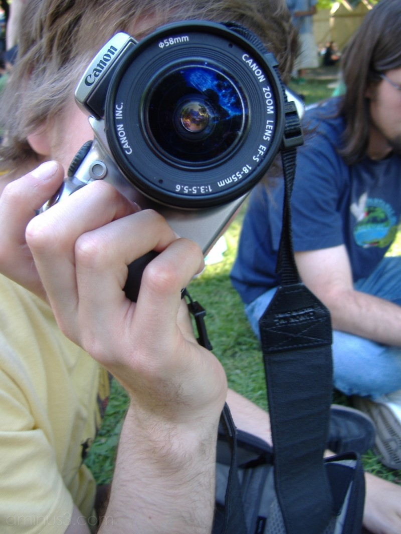 Camera caught