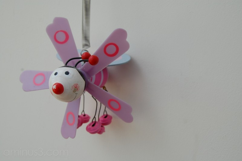 Wizzy Pink Bumble Bee Thing