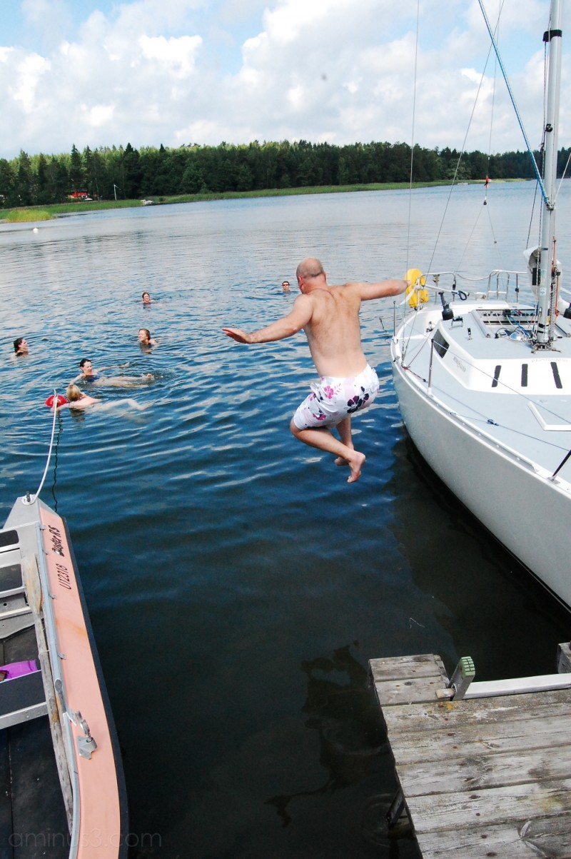 A Dip in the Baltic(s)