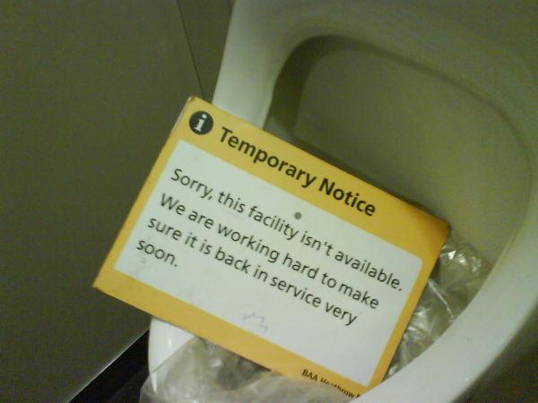 T5's Plumbing Problems