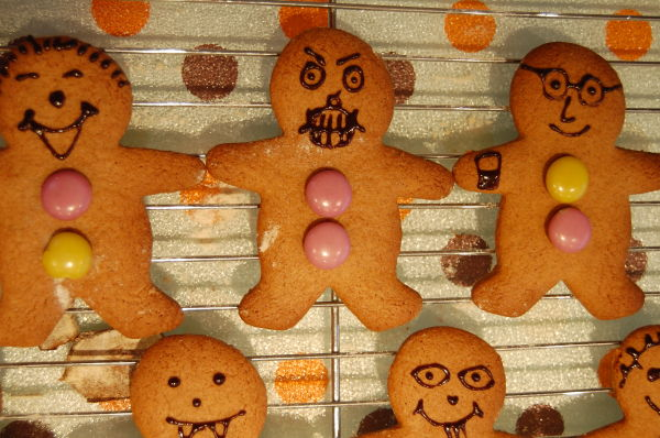 When Gingerbread Men Go Bad