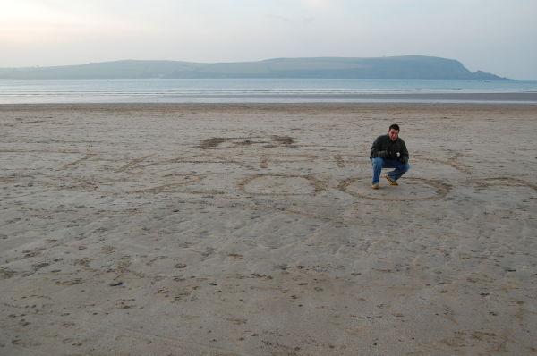 (Sand) Banksy