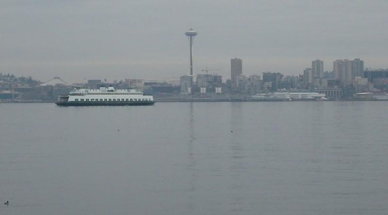 Seattle as viewed from Alki Beach