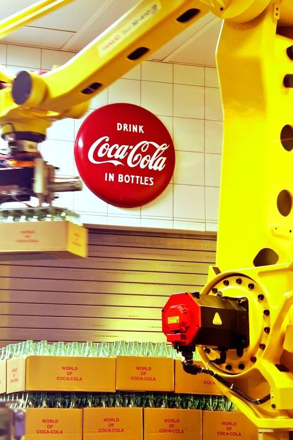 Coca Cola production line