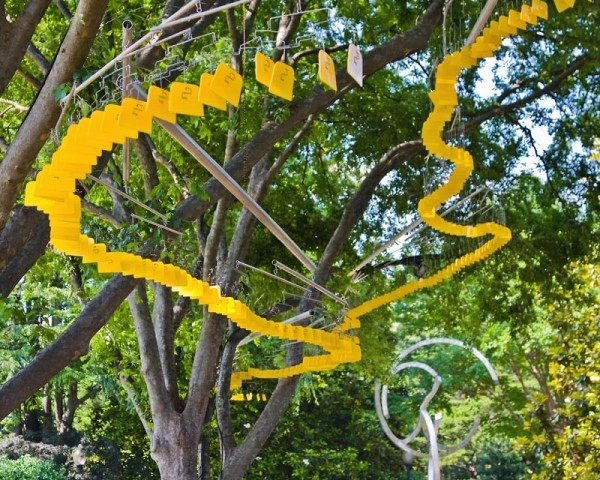 Sculpture by Tim Prentice and JEFFERY LAUDENSLAGER