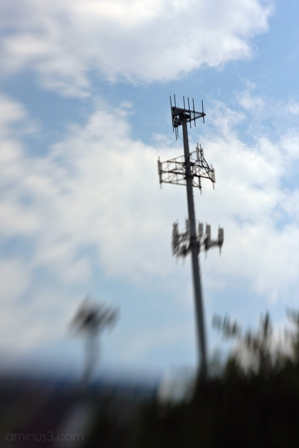 Cell phone towers in Atlanta