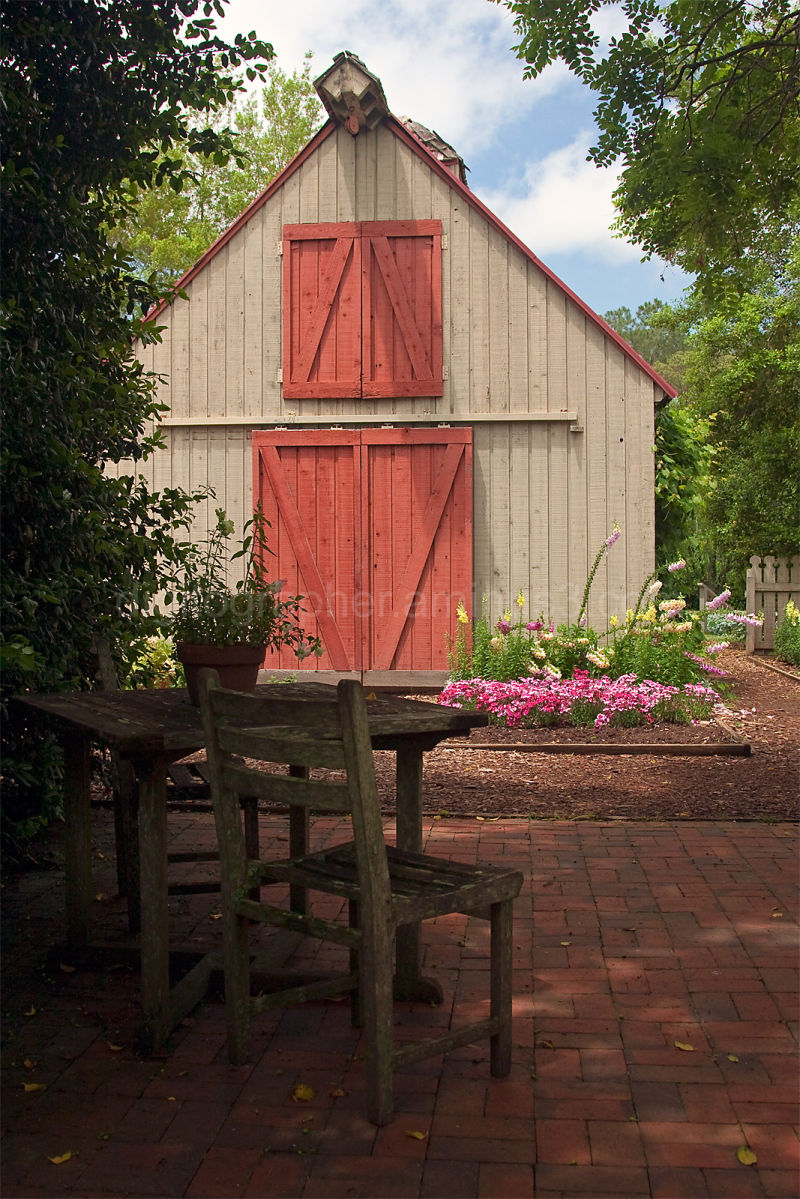 A Quiet Spot in Mr. Cason's Garden