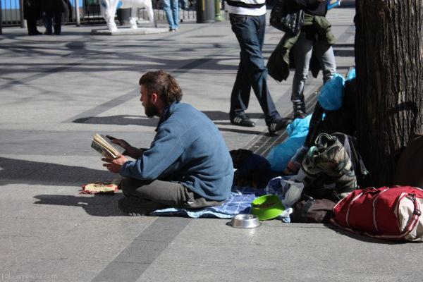 Buen lugar para leer. Madrid
