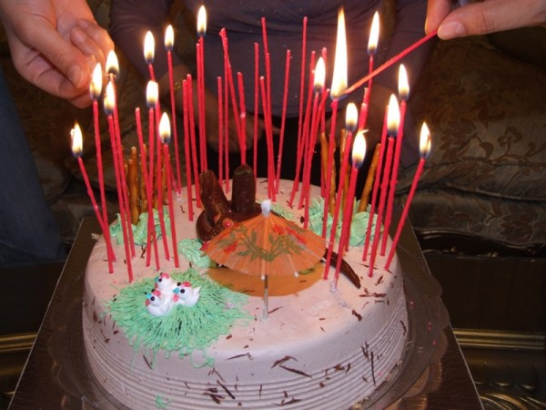 BirthDay Cake & Candles . . .