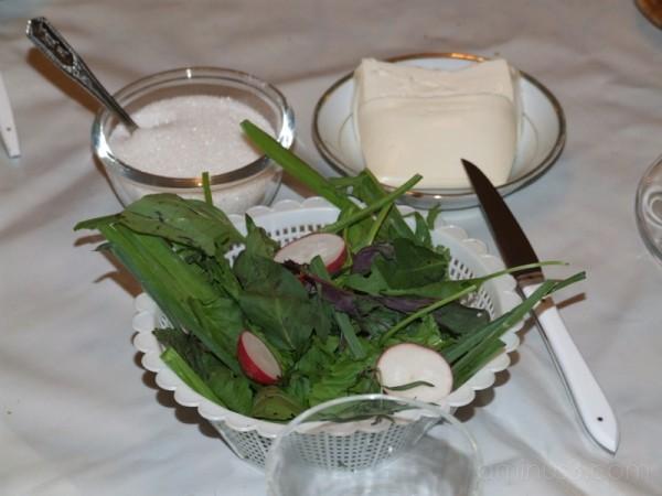 Cheese & Vegetable Salad (Eftar #3)