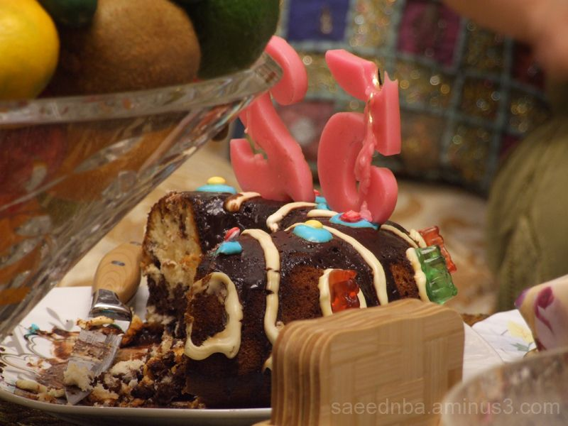 BirthDay Cake . . .