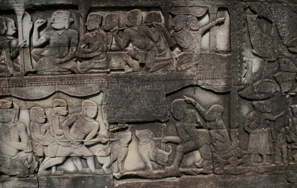 Bayon. Cambodia.