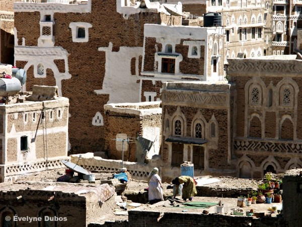 Vue de la ville de Sanaa