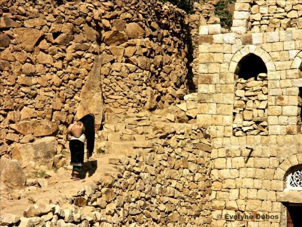 Village Yémen du nord