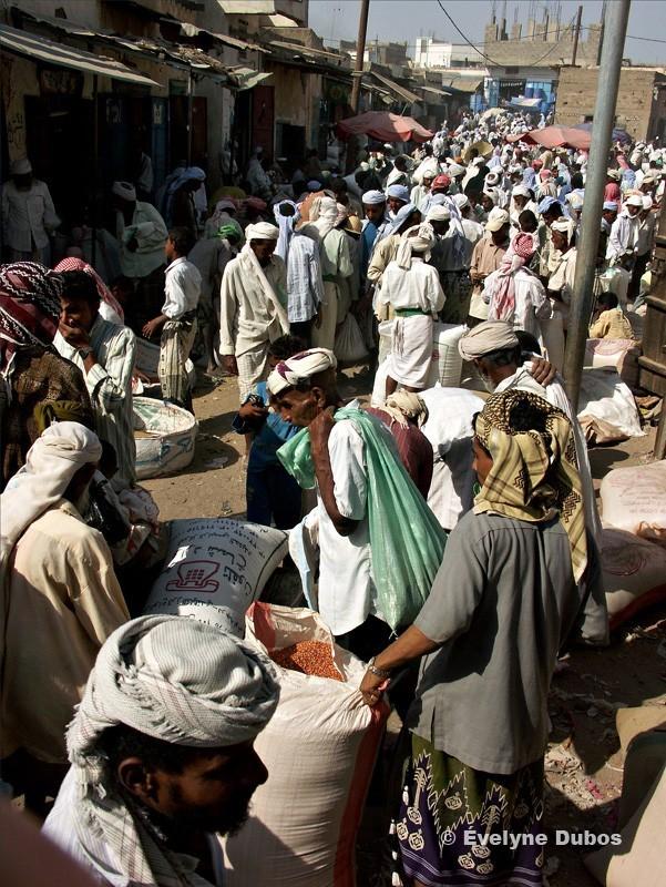 Un jour de marché au Yémen du nord