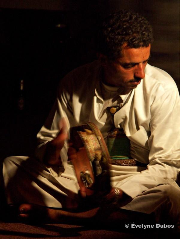 Joueur de musique nord yemen