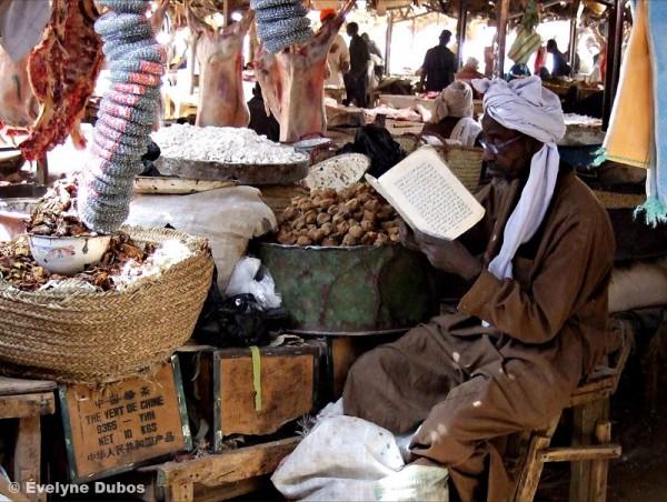Pose lecture entre deux clients ! (Niger)